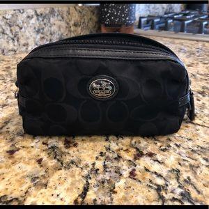 Coach makeup bag (small)